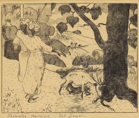 Paul Gauguin - Pastorales Martinique
