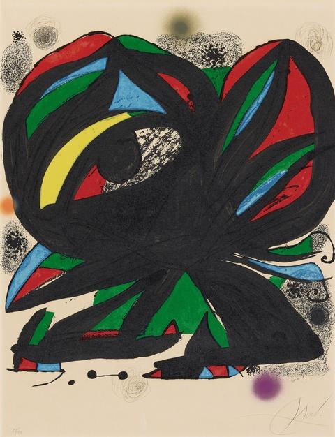 Joan Miró - Eröffnung der Fundació Joan Miró Barcelona