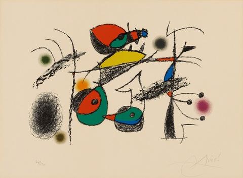 Joan Miró - Raymond Queneau