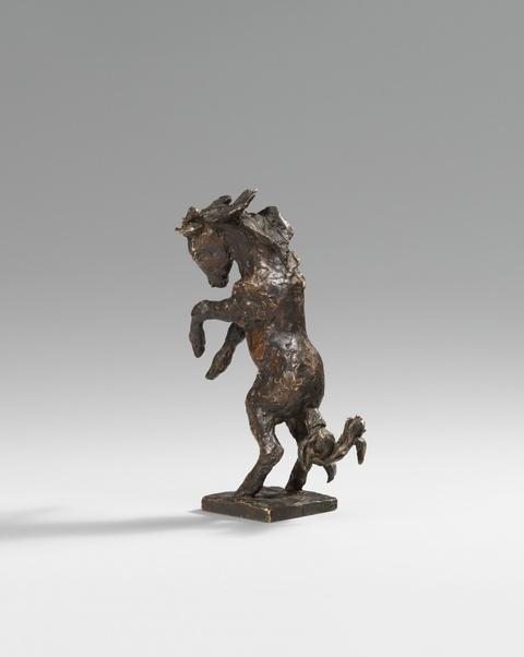 Renée Sintenis - Steigendes Pony (Pony bäumend; Pony auf der Hinterhand)