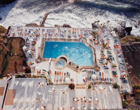 Andreas Gursky - Schwimmbad/Teneriffa