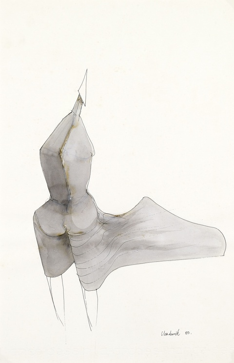 Lynn Chadwick - Figure in the Wind, VI