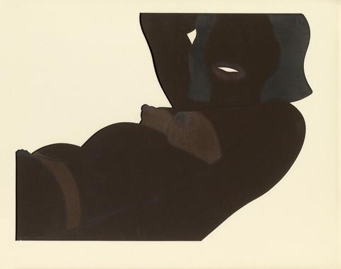 Tom Wesselmann - Great American Brown Nude Cut-out