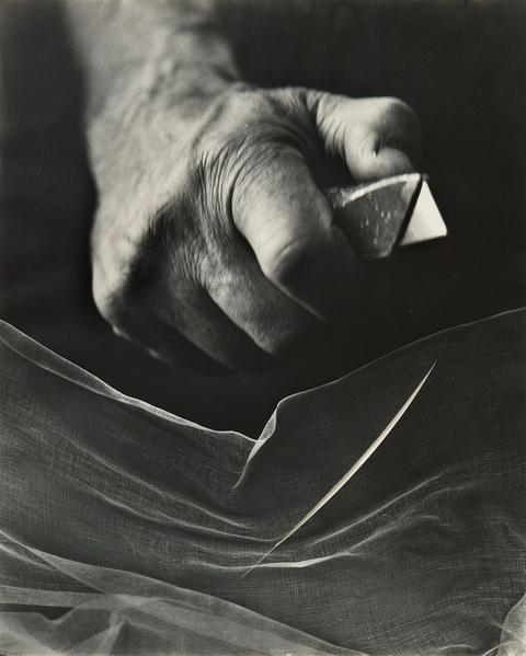 Lucio Fontana Lothar Wolleh - Ohne Titel