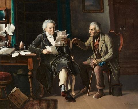 Benjamin Vautier - At the Notary's Office