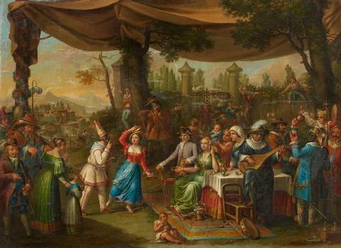 Wohl Italienischer Meister des 18. Jahrhunderts - Festveranstaltung mit einer Theateraufführung