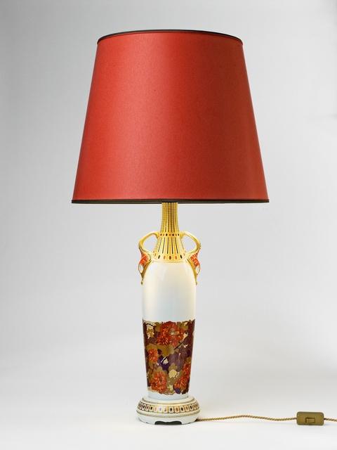 Blumenflasche als Lampe -