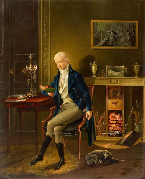 Johann Heinrich Wilhelm Tischbein - Bildnis des Malers Joseph Dorffmeister