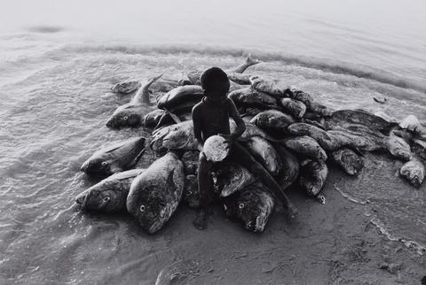 Robert Lebeck - Der Strand von Cayar, Senegal