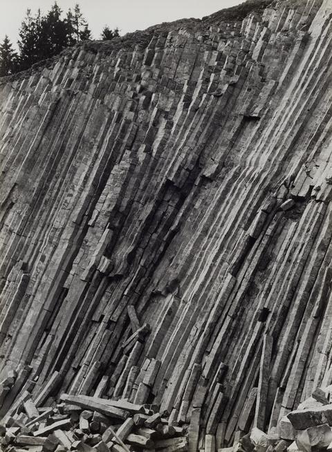 Albert Renger-Patzsch - Basalt in der Eifel (from the series: Gestein)