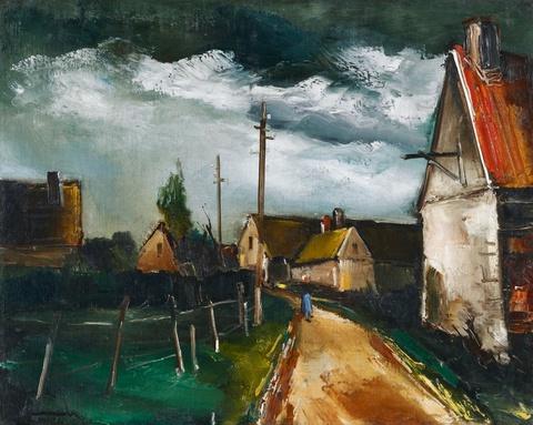 Maurice de Vlaminck - Rue de Village