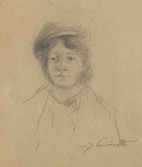 Lovis Corinth - Porträt der Frau des Künstlers