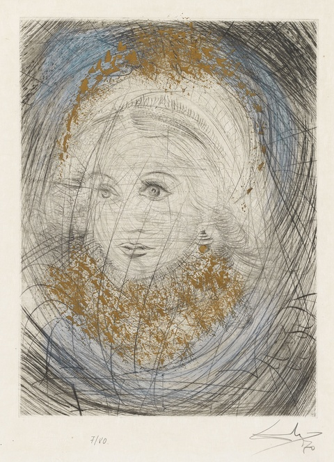 Salvador Dali Y Domenech - Portrait de Marguerite (Bildnis Margarete)