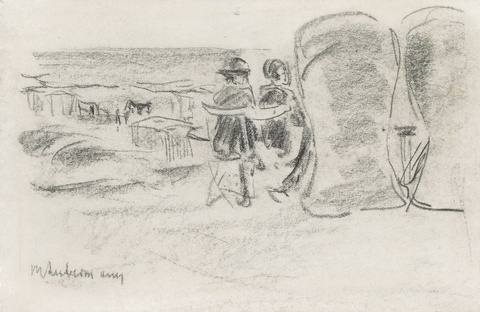 Max Liebermann - Am Strand