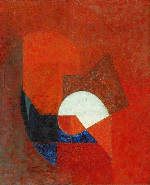 Joseph Lacasse - Komposition (Rouge et noir)