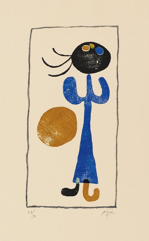 Joan Miró - A toute épreuve (Paul Éluard)