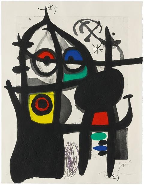 Joan Miró - La Captive