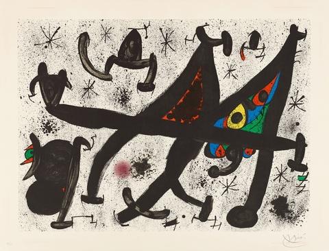 Joan Miró - Hommage à Joan Prat
