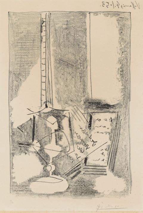 Pablo Picasso - Nature morte au livre