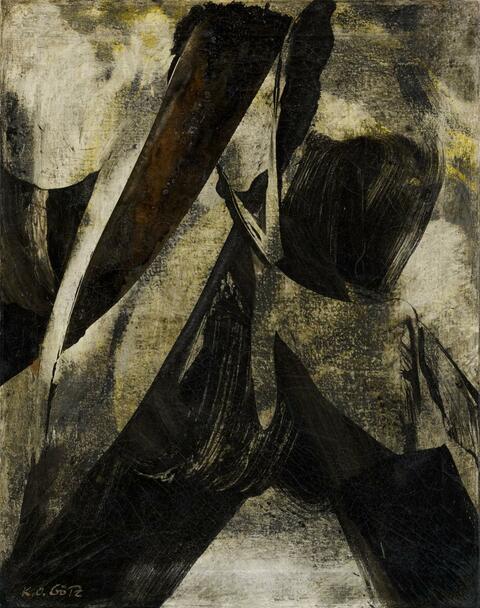 Karl Otto Götz - Untitled (8.12.1955)