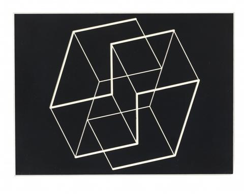 Josef Albers - Strukturale Konstellation SV-3 (Aus: Édition MAT Collection 59/60)
