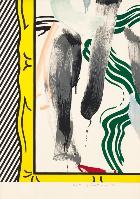 Roy Lichtenstein - Against Apartheid
