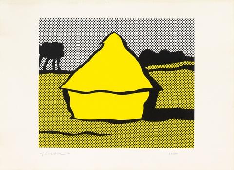 Roy Lichtenstein - Haystack