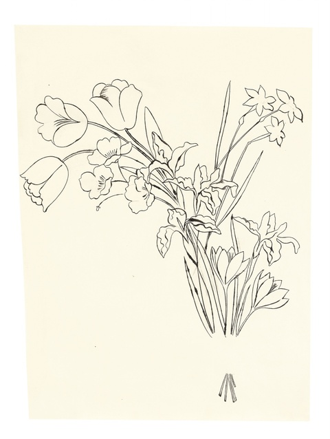 Andy Warhol - Bouquet of Flowers