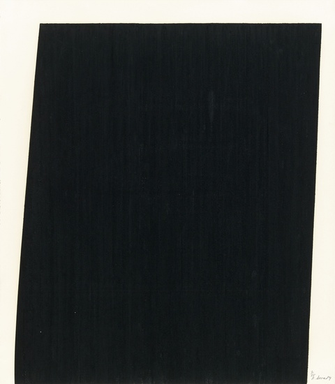 Richard Serra - Tujunga Blacktop