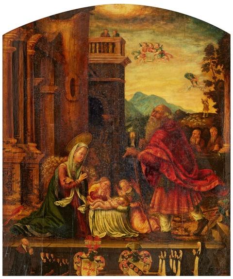 Wohl Süddeutscher Meister um 1530 - Geburt Christi