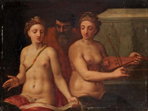 Wohl Italienischer Meister des 16. Jahrhunderts - Allegorische Szene