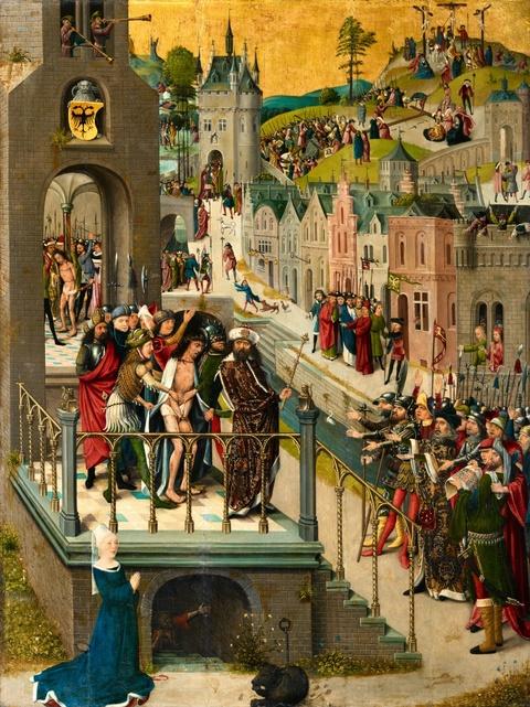 Niederrheinischer Meister um 1490/1500 - Passion Christi