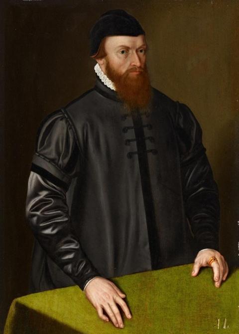 Süddeutscher Meister um 1570 - Porträt eines Herren