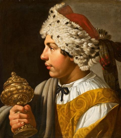 Netherlandish School, 17th century - Three Paintings with the Magi Caspar, Melchior and Balthasar