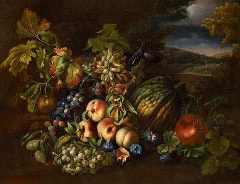 Italienischer Meister des 17. Jahrhunderts - Früchtestillleben