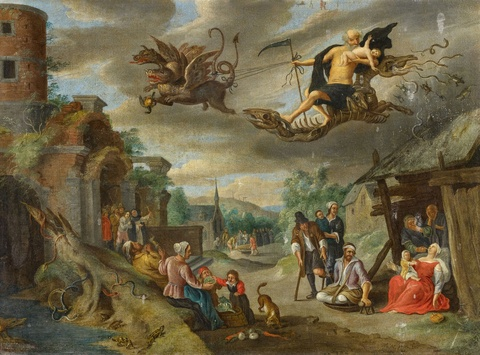 Jan van Kessel the Elder - Saturn Devouring his Children