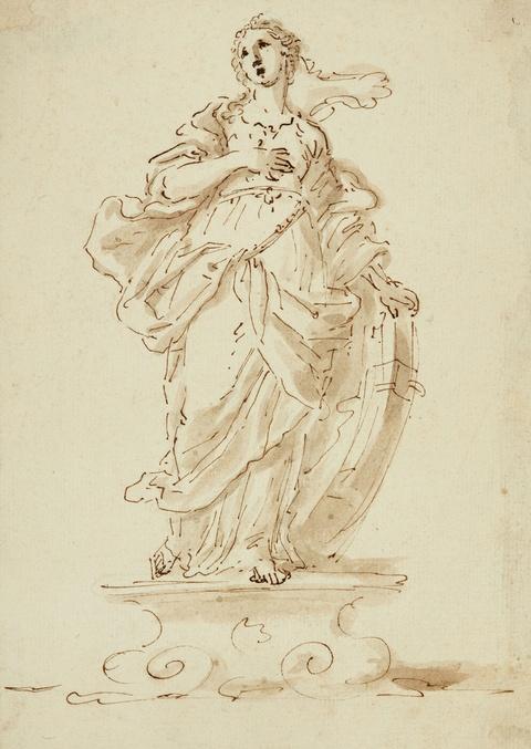 Venetian School, 18th century - Saint Catherine