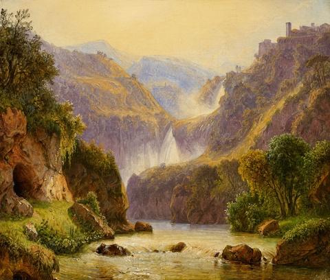 Carl Morgenstern - The Waterfalls at Tivoli