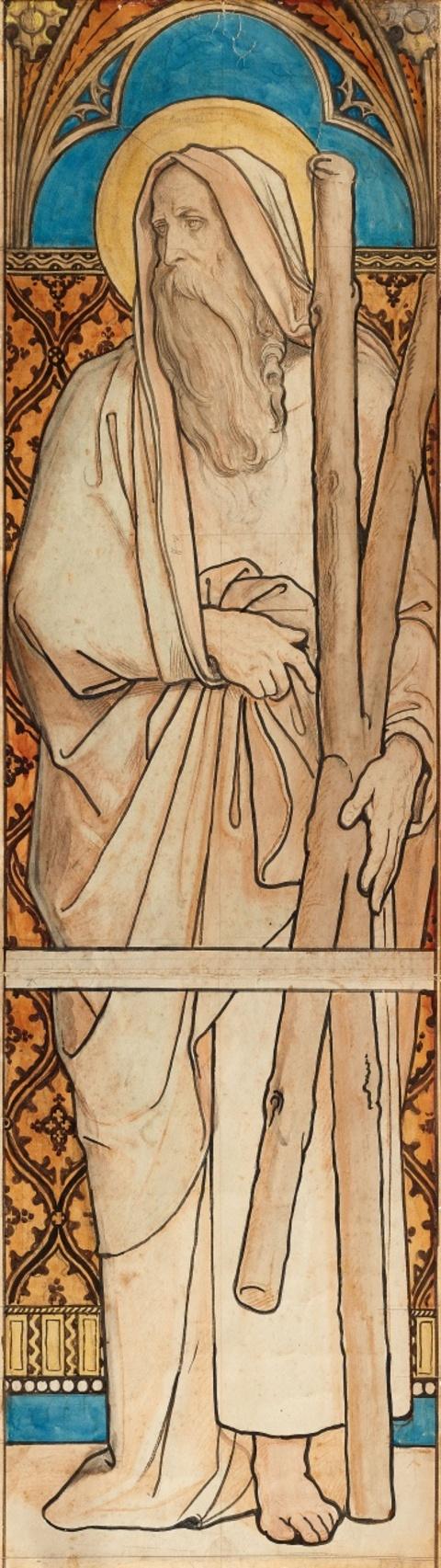 Moritz von Schwind - Heiliger Andreas