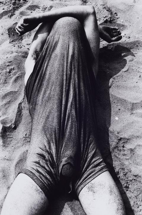 Will McBride - Roland im Viareggio-Sand