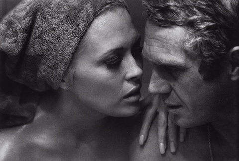 Bill Ray - Faye Dunaway & Steve McQueen (at the set of 'Thomas Crown Affair')