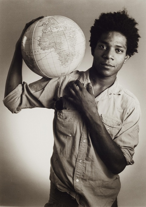 Christopher Makos - Jean-Michel Basquiat