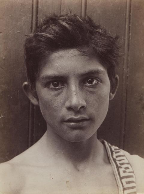 Wilhelm von Gloeden - Ohne Titel (Portrait eines Knaben)