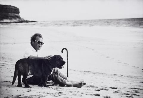 Robert Lebeck - Willy Brandt in Fuerteventura, Weihnachten