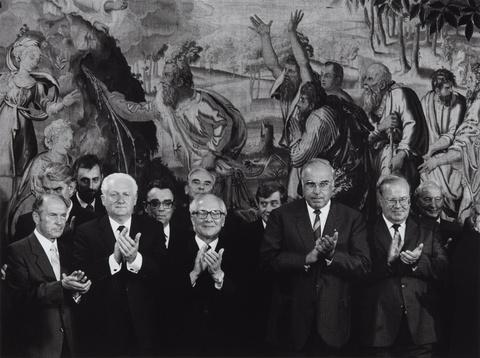 Barbara Klemm - Erich Honecker, Helmut Kohl, Bonn