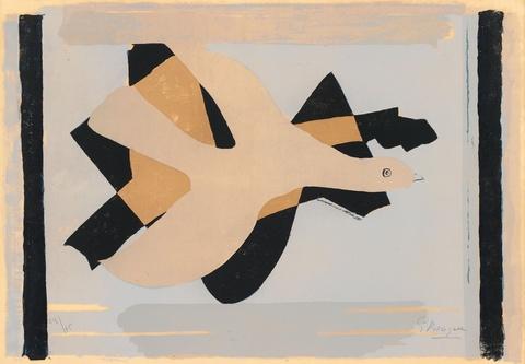 Georges Braque - L' oiseau et son ombre