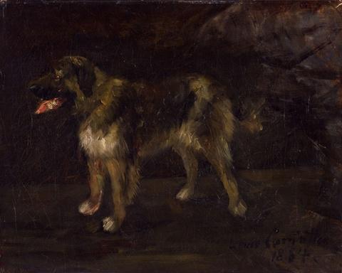 Lovis Corinth - Hundestudie