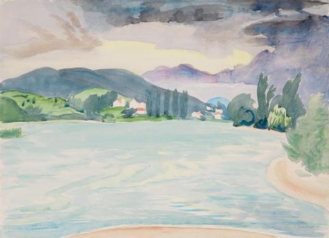 Erich Heckel - Donaulandschaft