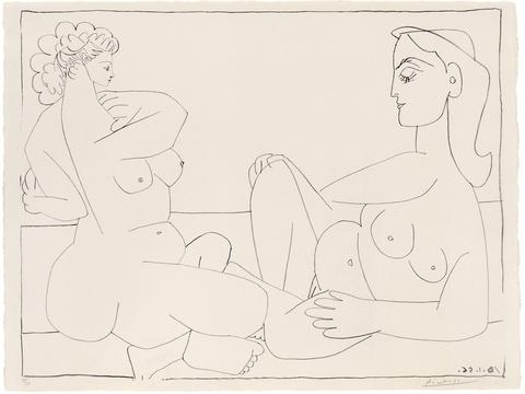 Pablo Picasso - Deux Femmes sur la Plage