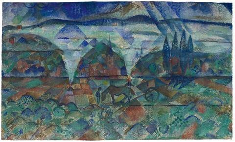 Paul Adolf Seehaus - Herbstfeuer